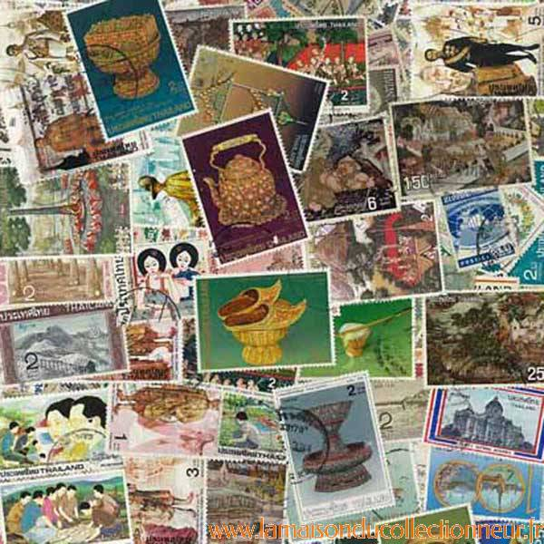 collection de timbres thailande oblit 233 r 233 s ebay