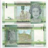 Banknoten das Jersey Pk Nr. 32 - 1 Pound