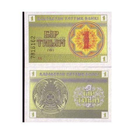 Billet de collection Kazakhstan Pk N° 1 - 1 Tyin
