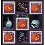 Timbre Halloween Bloc N° 40 neuf sans charnière