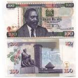 Collezione banconote Kenya Pick numero 42 - 100 Shilling