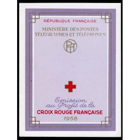 Timbre France Carnet Croix Rouge N° 2007 neuf sans charnière