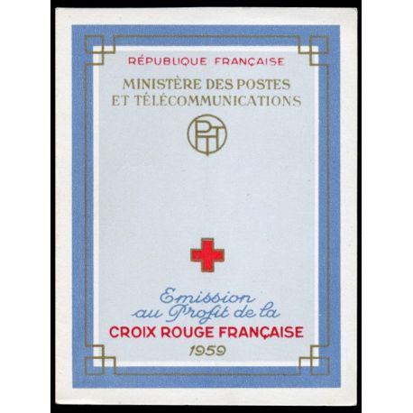 Timbre France Carnet Croix Rouge N° 2008 neuf sans charnière