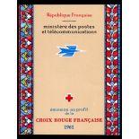 Francese libretto rosso-Croce N ° 2010 Nuevo non linguellato