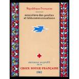 French Red-Cross booklet N° 2010 Mint NH