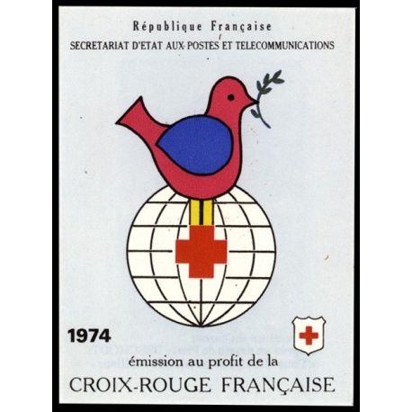 Timbre France Carnet Croix Rouge N° 2023 neuf sans charnière