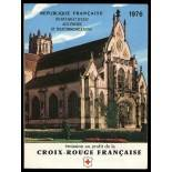 Francese libretto rosso-Croce N ° 2025 Nuevo non linguellato