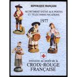 Französisch Rote Kreuz Markenheftchen N ° 2026 Postfrisch