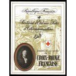 Französisch Rote Kreuz Markenheftchen N ° 2027 Postfrisch