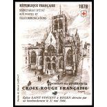Timbre France Carnet Croix Rouge N° 2028 neuf sans charnière