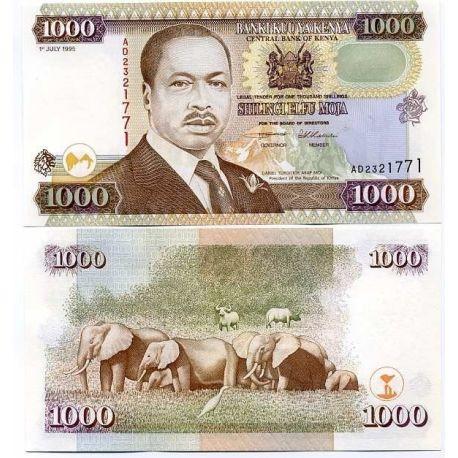 Kenya - Pk: # 34 - Ticket of 1000 Shilling