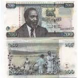 Bello banconote Kenya Pick numero 43 - 200 Shilling