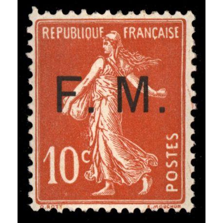 France FM N° 5 Neuf(s) sans charnière