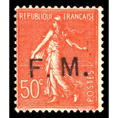 Timbre France FM N° 6 neuf sans charnière