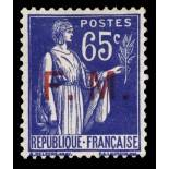 Timbre France FM N° 8 neuf sans charnière