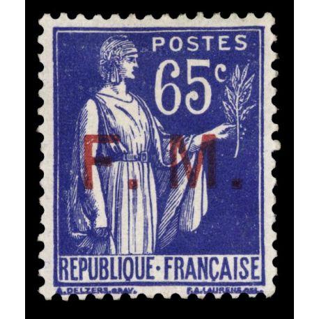 France FM N° 8 Neuf(s) sans charnière