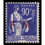 Francobolli Forze armate francesi N ° 9 Nuevo non linguellato