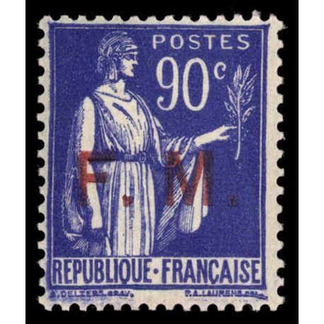France FM N° 9 Neuf(s) sans charnière