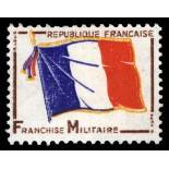 French Military stamps N° 13 Mint NH
