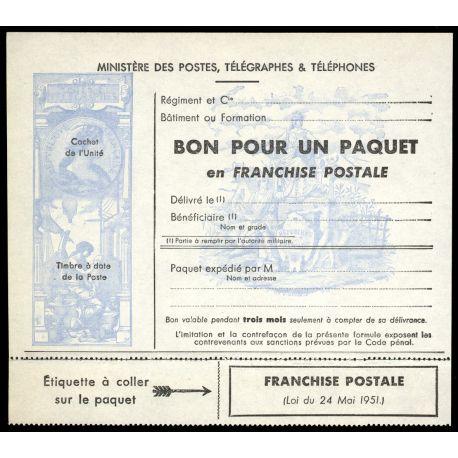 France FM N° 14 Neuf(s) sans charnière