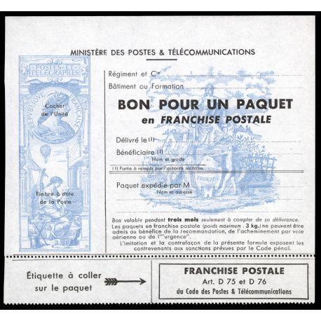 Timbre France FM N° 15 neuf sans charnière