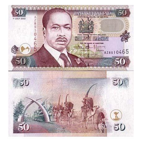 Kenya - Pk N° 36 - Billet de 50 Shilling
