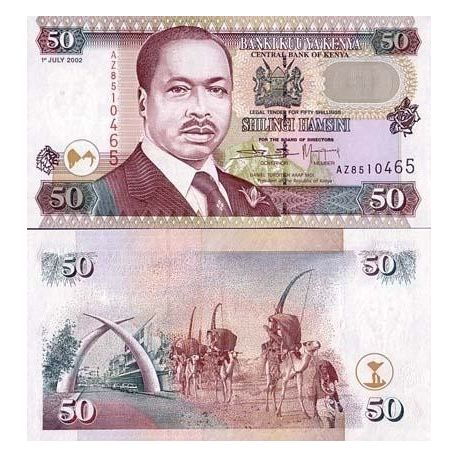 Billets de collection Billet de collection Kenya Pk N° 36 - 50 Shilling Billets du Kenya 6,00 €