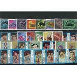 Sammlung gestempelter Briefmarken Astrologie