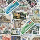 Gestempelte Briefmarkenensammlung Schlößer