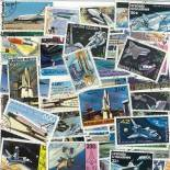 Used stamp collection Shuttle
