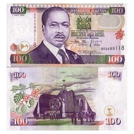 Kenya - Pk N° 37 - Billet de 100 Shilling