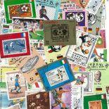Collection de timbres Foot Italie oblitérés