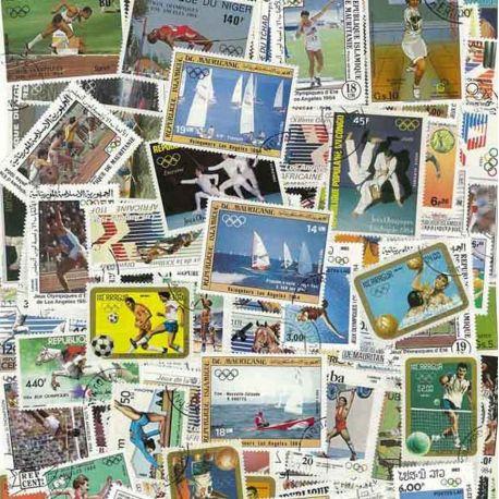 ABL Ete Los Angeles: 100 verschiedene Briefmarken