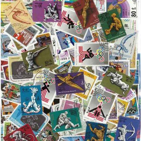OJ wurde Moskau: 100 verschiedene Briefmarken
