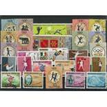 Collection de timbres Jo Ete Rome oblitérés