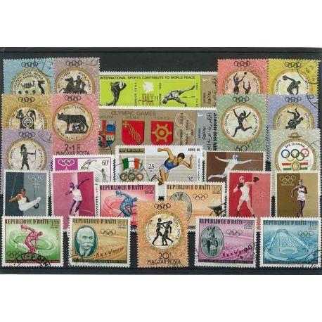 OJ Ete Rom: 25 verschiedene Briefmarken