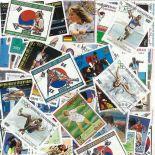 Colección de sellos Juegos olímpicos Se es Seul usados