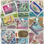 Collection de timbres Jo Ete Tokyo oblitérés