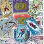 Collection de timbres Jo Hiver Grenoble oblitérés