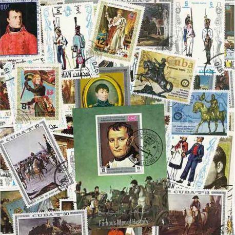 Collection de timbres Napoleon oblitérés