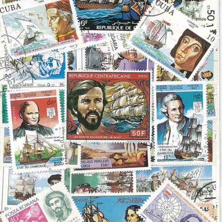 Navigateurs : 100 timbres différents