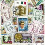 Collection de timbres Nobel oblitérés