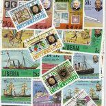 Collection de timbres Rowland Hill oblitérés