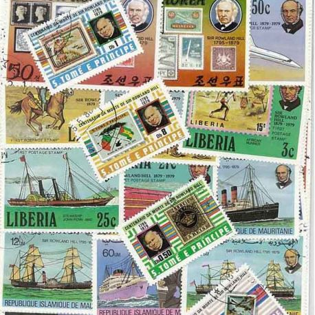 Rolland Hill: 25 verschiedene Briefmarken