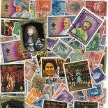 Sammlung gestempelter Briefmarken Könige und Königinnen