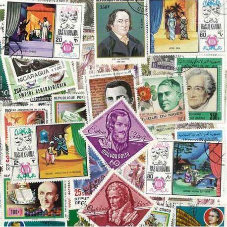 Litterature : 100 timbres différents