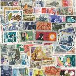 Collezione di francobolli lavori ed industrie cancellati
