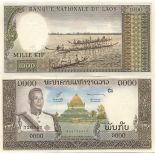 Billet de banque Laos Pk N° 14 - 1000 Kip