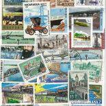 Colección de sellos Puentes usados