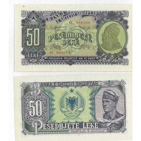 Albania - Pk: # 29 - 50 Note Leke